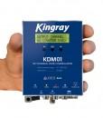 Kingray Digital Modulator AV to Digital DVB-T, CVBS/S-VHS, VHF/UHF, Including 12V Power Supply