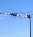 Antenna UHF/VHF True Band Metro Silver Bullet