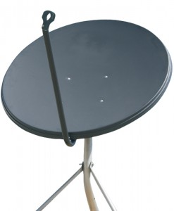 Jonsa 65cm Satellite Dish Offset Fixed