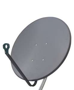Jonsa 85cm Satellite Dish Offset Fixed